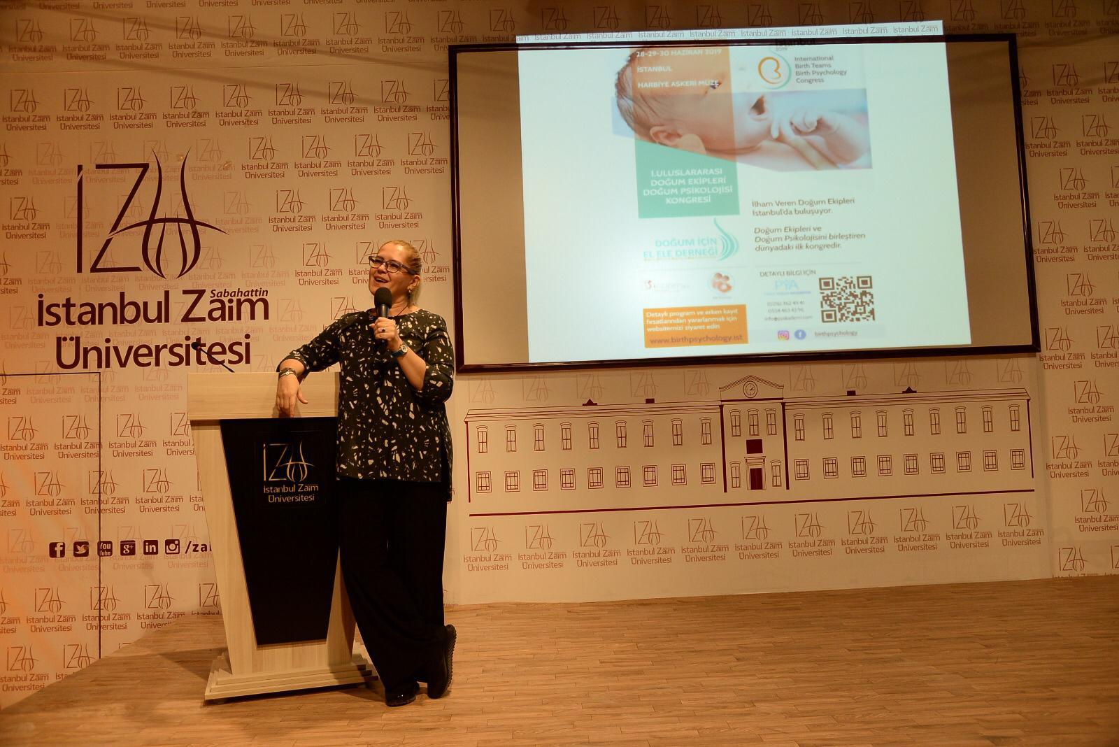 İstanbul Sabahattin  Zaim Üniversitesi Doğum Psikolojisi Konferansı