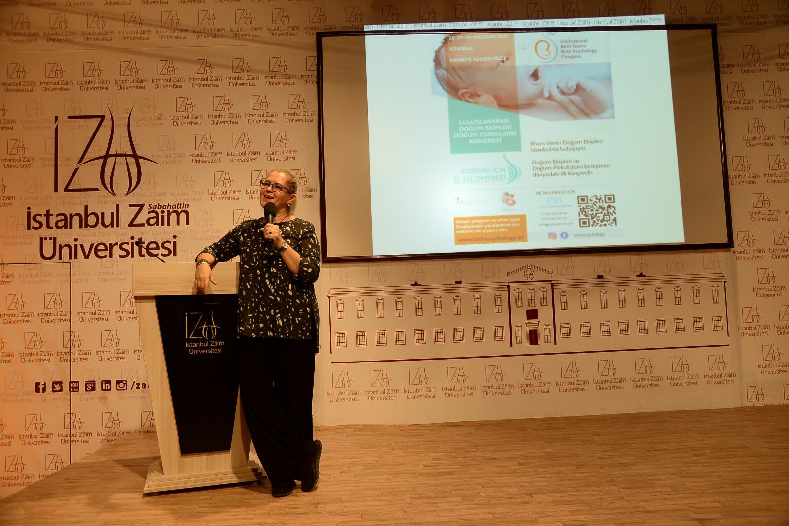 Birth Psychlology Conference at İstanbul Sabahattin Zaim University