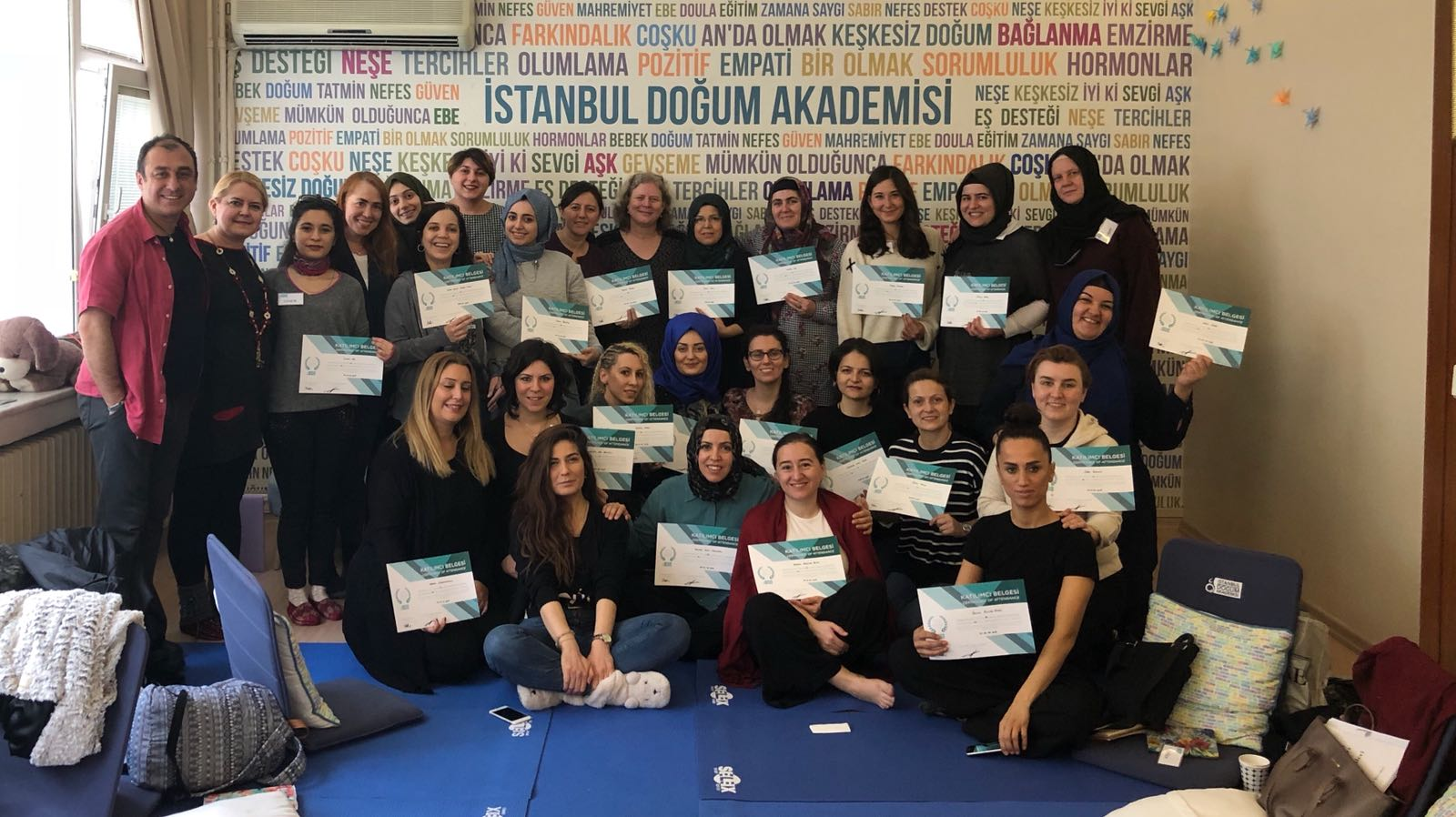 Hand in Hand for Birth Association has enabled the first Grief Doula Training in Turkey