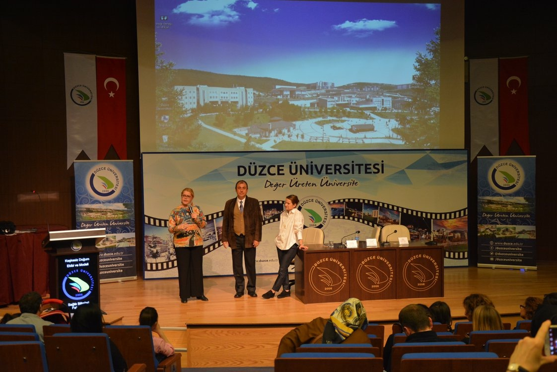 Birth Without Regret Conference at Düzce University