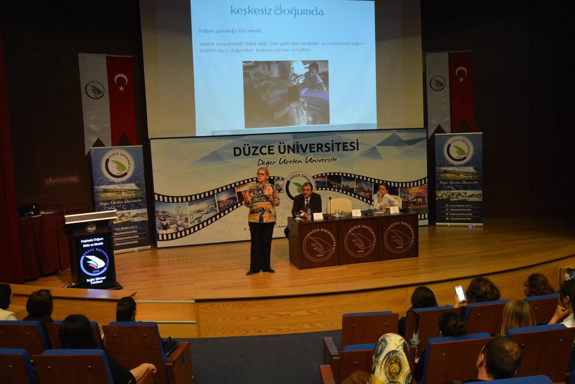Birth with No Regret Conference at Düzce University