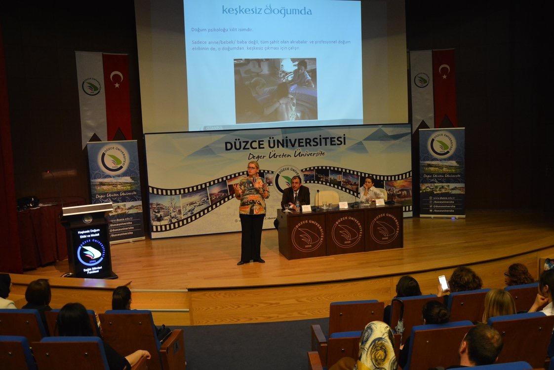 Düzce Üniversitesi'nde Keşkesiz Doğum Konferansı