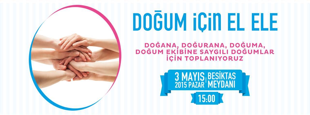 Doğum için Elele İstanbul 2015