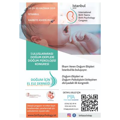 1.Uluslararası doğum ekipleri ve doğum psikolojisi kongresi