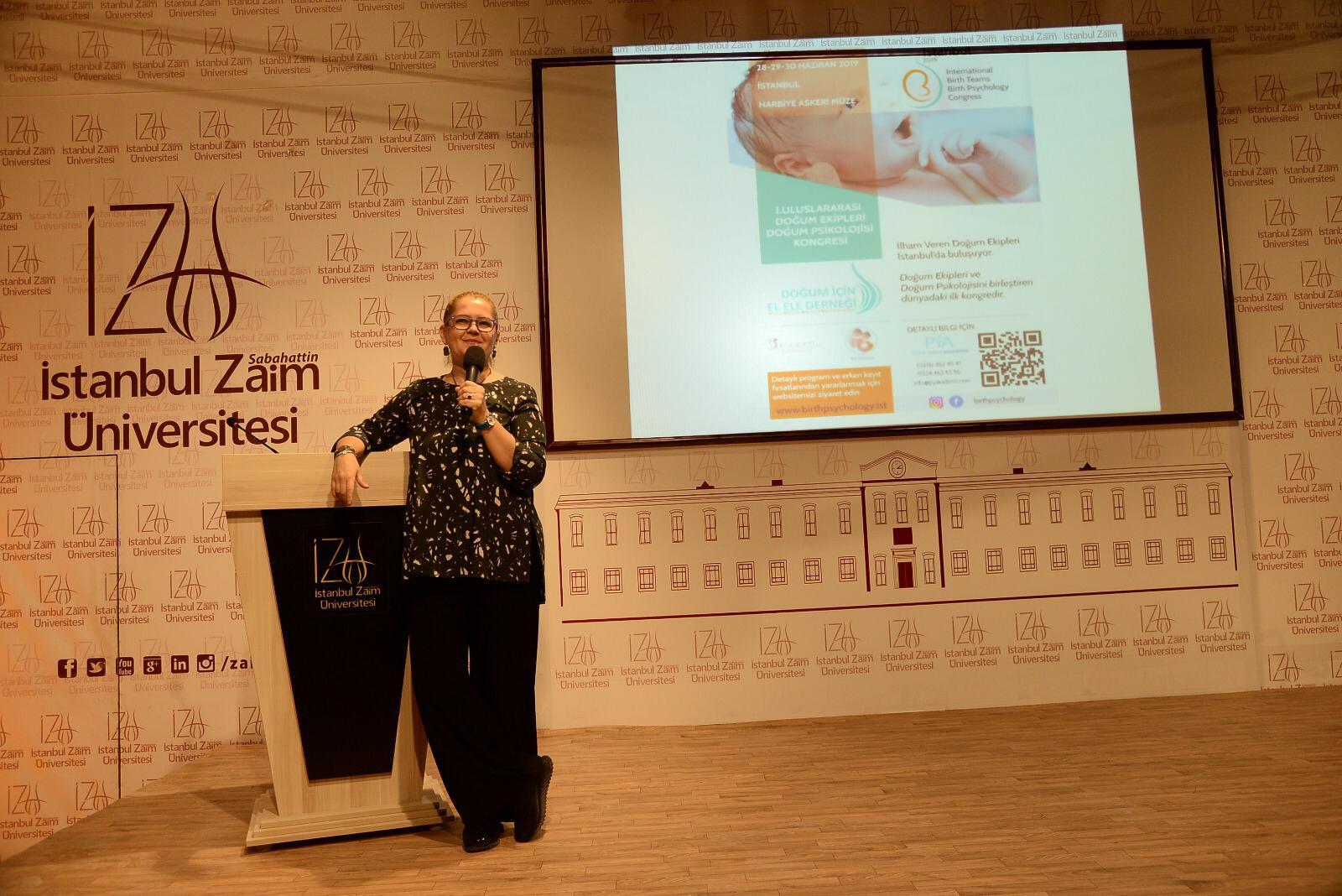 İstanbul Zaim Üni. Doğum Psikolojisi Konferansı